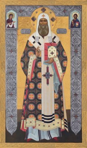Икона святитель Петр Московский