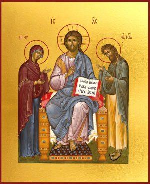 Икона Спасителя Деисус