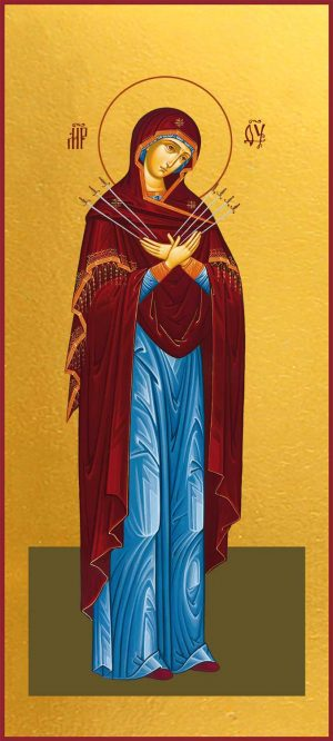 Икона Божией Матери Семистрельная