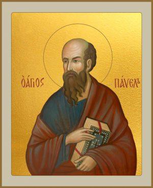 Икона Павел Апостол