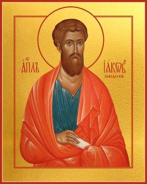Икона Иаков Зеведеев апостол