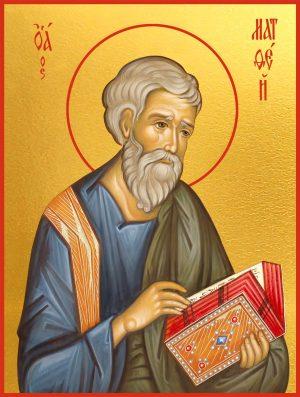 Икона Матфей Евангелист апостол
