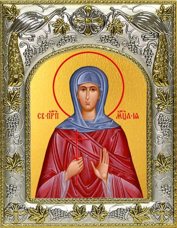 Икона Ия мученица в окладе