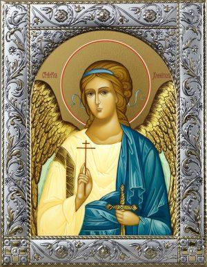 Икона Ангела Хранителя в окладе