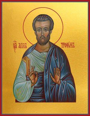 Икона Трофим апостол