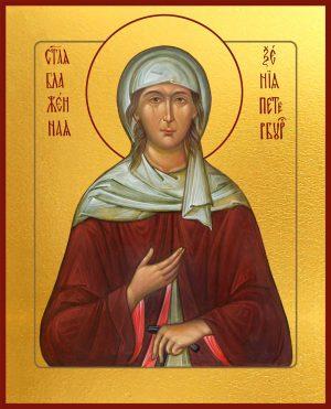 Купить икону Ксении Петербургской, блаженной в православном интернет магазине