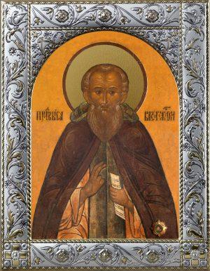 Иконы Саввы Сторожевского в окладе