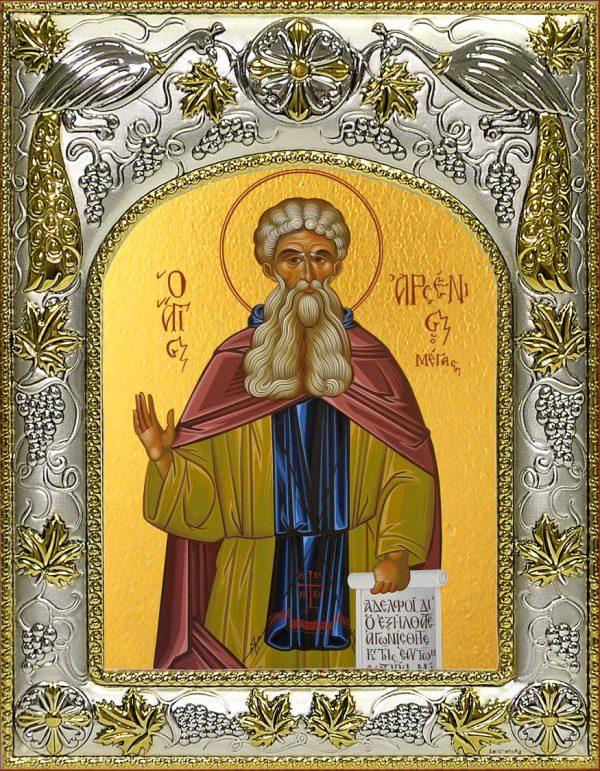 Икона святого Арсения Великого преподобного