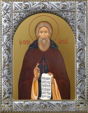 Купить икону святого Сергея Радонежского