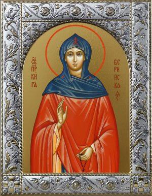 Иконы Киры Берийской (Македонской) в окладе