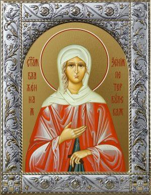 Купить икону святой Ксении Петербургской
