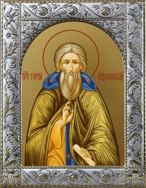 Купить икону преподобного Сергия Радонежского
