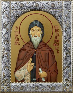 Купить икону святого Александра Константинопольского