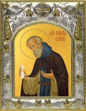 WИкона святого Нила Сорского преподобного