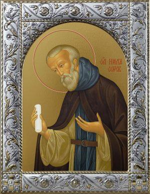 Купить икону святого Нила Сорского преподобного