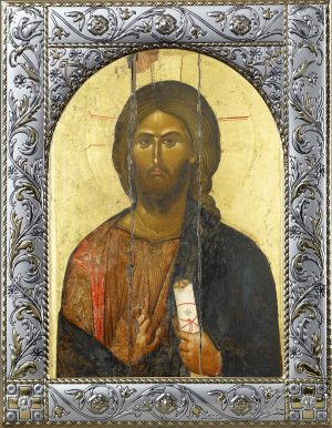 Икона Господа Вседержителя в рамке