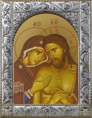 Купить икону Спасителя Не рыдай Мене, Мати