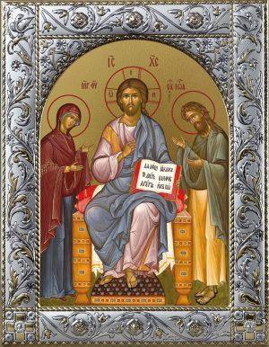 Купить икону Спасителя Деисус