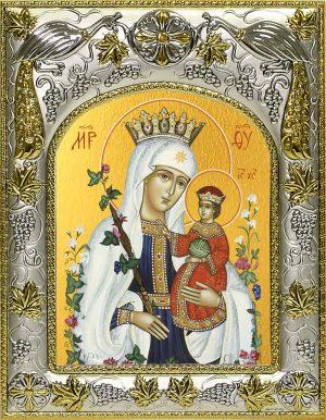 Икона Божьей Матери Неувядаемый цвет