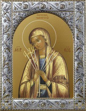 Купить икону Умягчение злых сердец Божьей Матери
