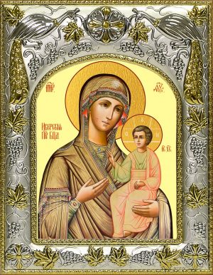 Икона Иверская Божья Матерь