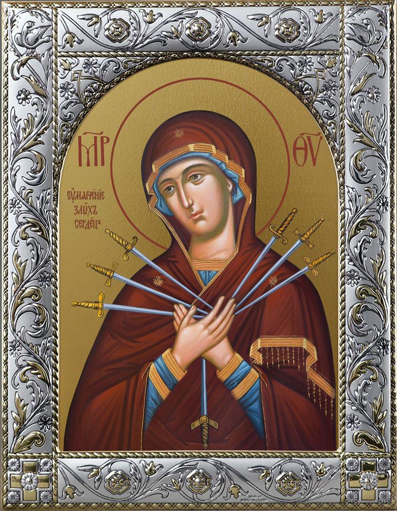 купить икону Божьей Матери Умягчение злых сердец