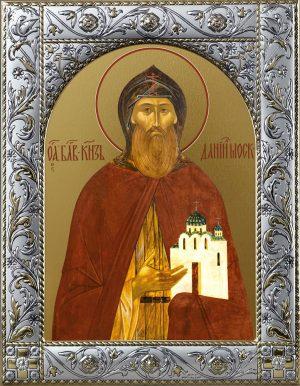 купить икону святого князя Даниила Московского