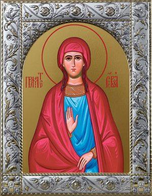 Ева праматерь икона в окладе