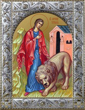 Татиана Римская великомученица икона в окладе