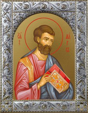 Икона Марк апостол в окладе