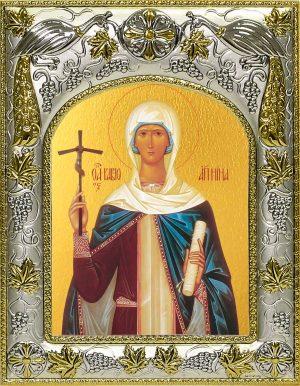 Икона святой Нины равноапостольной в окладе