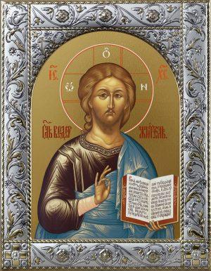 Икона Господа Вседержителя в окладе