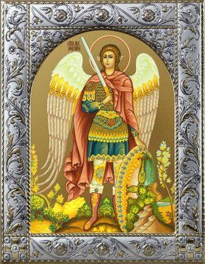 Иконы Архангела Михаила в рамке