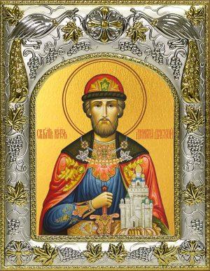 Икона святого Дмитрия Донского великого благоверного князя