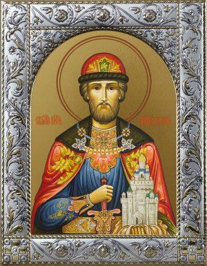 Димитрий Донской благоверый князь икона в окладе