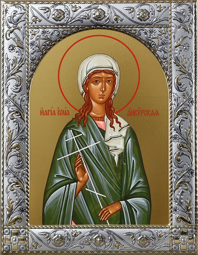 фото иконы иулии анкирской кассовый
