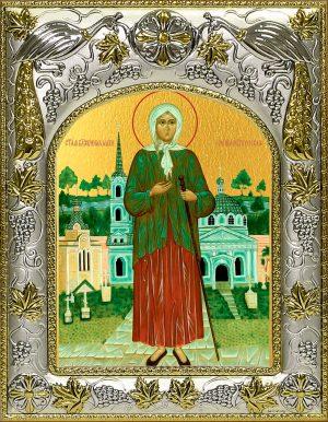 Икона святой блаженной Ксении Петербургской