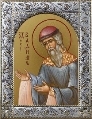 Вадим Персидский архимандрит преподобномученик икона в окладе