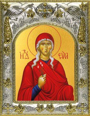 Икона святой Евы праматери в окладе
