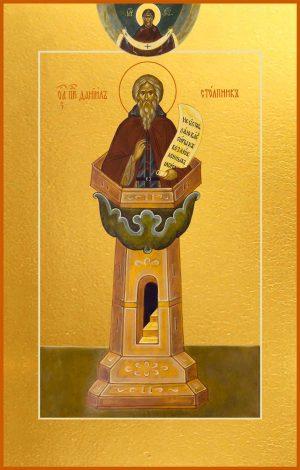 Купить икону Даниила Столпника в православном интернет магазине