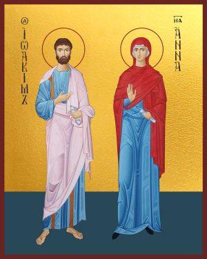 купить икону святых Иоакима и Анны в православном интернет магазине