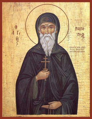 Купить икону святого Патапия Египетского в православном интернет магазине