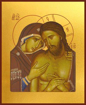 Купить икону Не рыдай Мене, Мати в православном интернет магазине