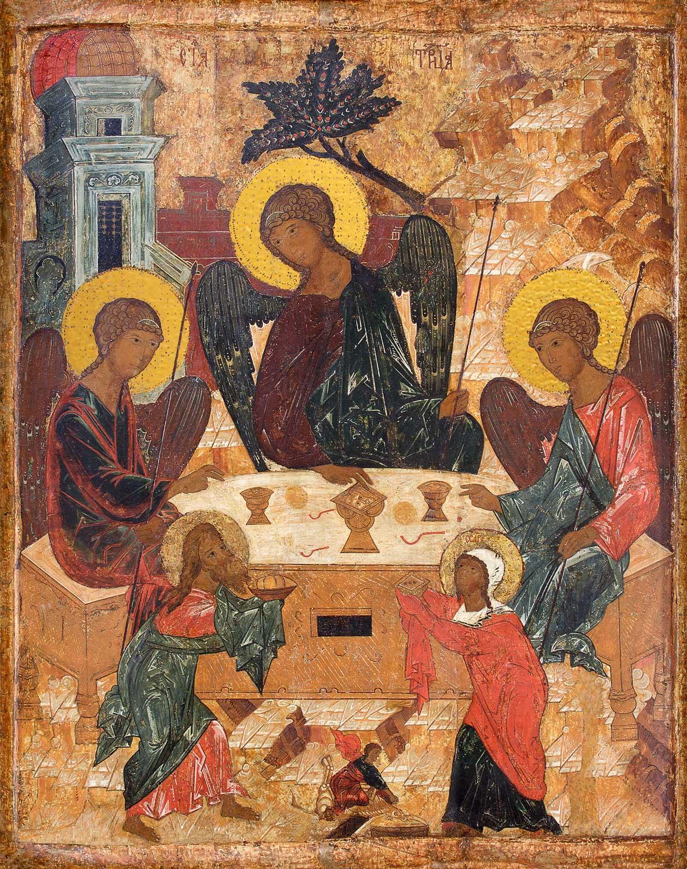 Купить икону Святая Троица в православном интернет магазине