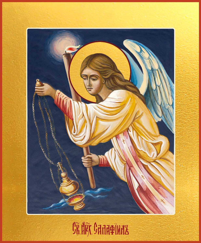 Купить икону Архангела Селафиил в православном интернет магазине