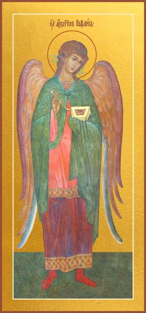Купить икону Архангела Рафаила в православном интернет магазине
