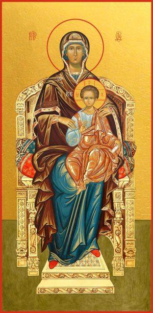 купить икону Божьей Матери на Престоле