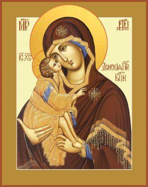купить Донскую икону Божьей Матери