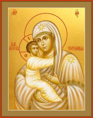 купить икону Божьей Матери Жировицкая в православном интернет магазине