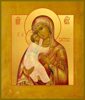 купить икону Божьей Матери Владимирская в православном интернет магазине